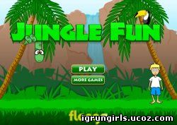 онлайн игра Jungle Fun
