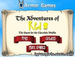 онлайн игра The Adventures of Red
