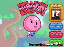 онлайн игра человек шарик