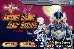 онлайн игра Броня Героя armored warrio crazy shooters