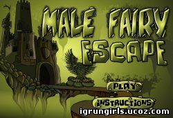 онлайн игра Male Fairy Escape