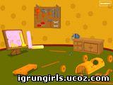 Флеш-Игры Онлайн игра Wooden Tool Room Escape